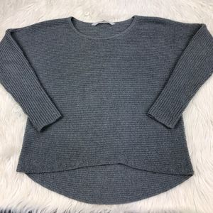 Athleta Women's M Gray Huntly Sweater